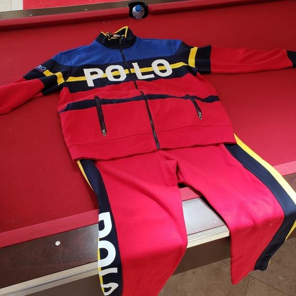 5836c5b9 Polo Ralph Lauren Hi-Tech Stadium Track Jacket Act